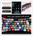 Informer Mag250 IPTV box with European Pack(550+ Channels)